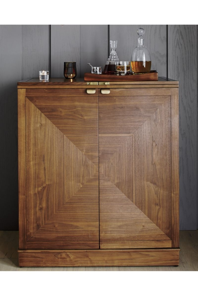 Maxine Bar Cabinet | Самаринская | Pinterest | Bar, Cabinet And Bar With Most Popular Jigsaw Refinement Sideboards (#9 of 20)