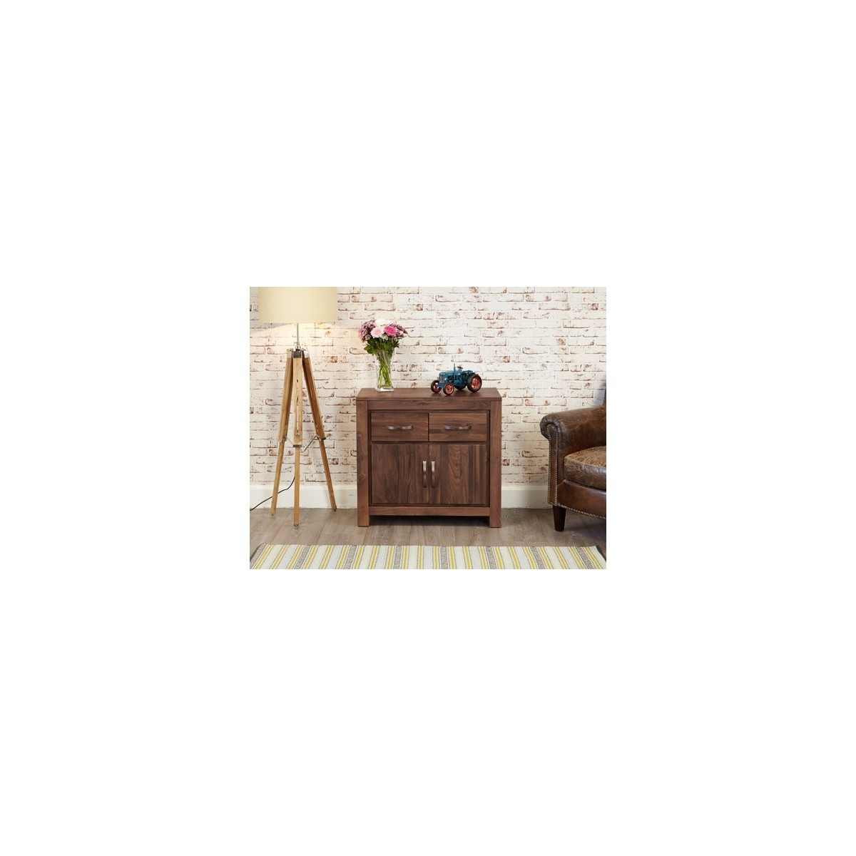 Inspiration about Mayan Walnut Small Sideboard – Alto Picco | Furnishing Your Lifestyle Within 2017 Walnut Small Sideboards (#20 of 20)