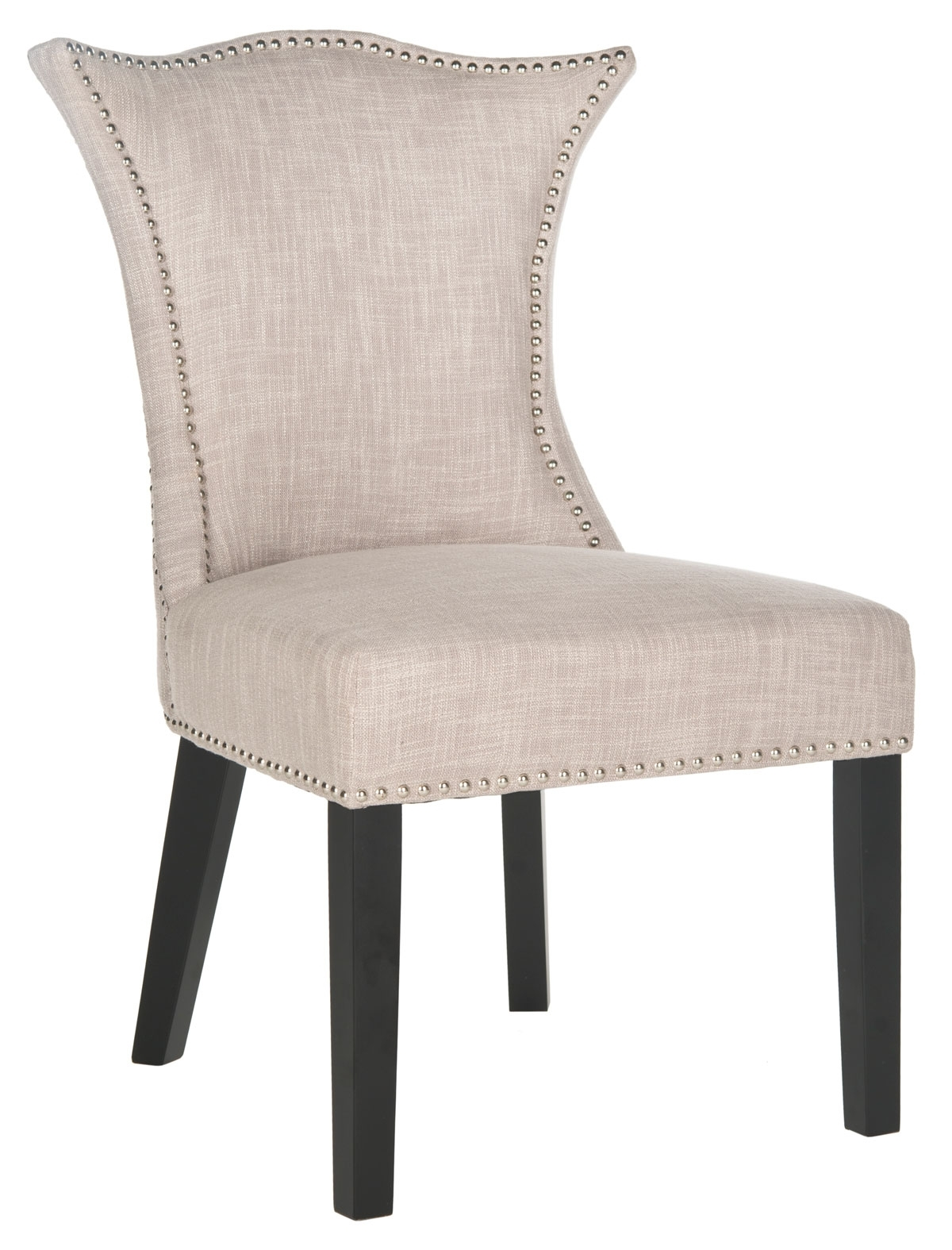 Inspiration about Mcr4717a Set2 Dining Chairs – Furnituresafavieh Within Most Current Caira Black Upholstered Diamond Back Side Chairs (#9 of 20)