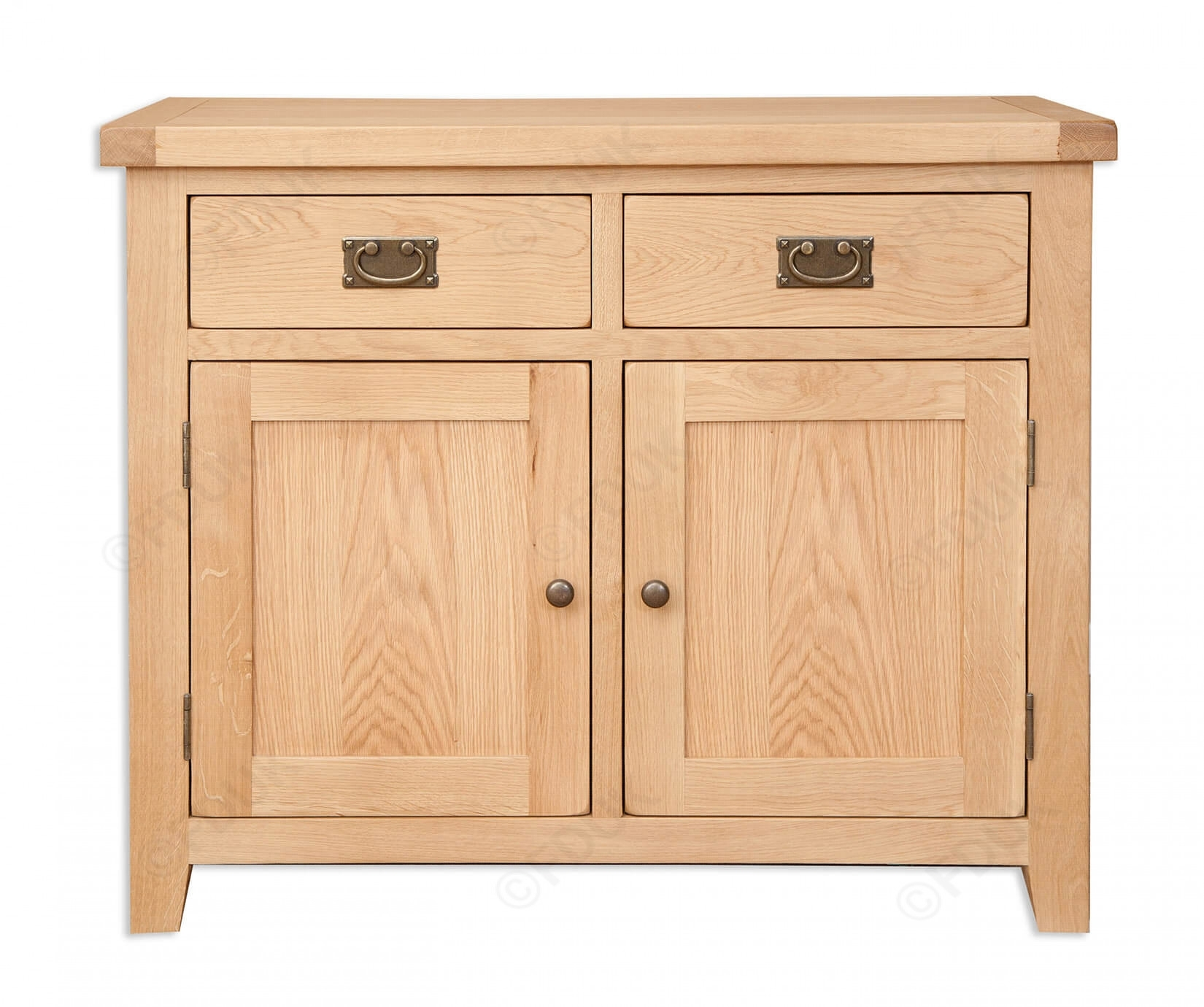 Inspiration about Melbourne | Natural Oak 2 Door Sideboard | Furnituredirectuk Throughout Most Up To Date Natural Oak Wood 2 Door Sideboards (#12 of 20)