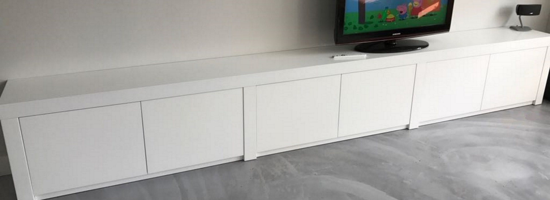 Inspiration about Meubelspuiterij Alkmaar Regarding Most Up To Date Neeja 3 Door Sideboards (#2 of 20)
