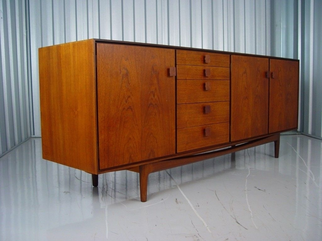 Inspiration about Mid Century G Plan Kofod Larsen Sideboard Retro Vintage Furniture 2 Regarding Current Vintage Brown Textured Sideboards (#11 of 20)