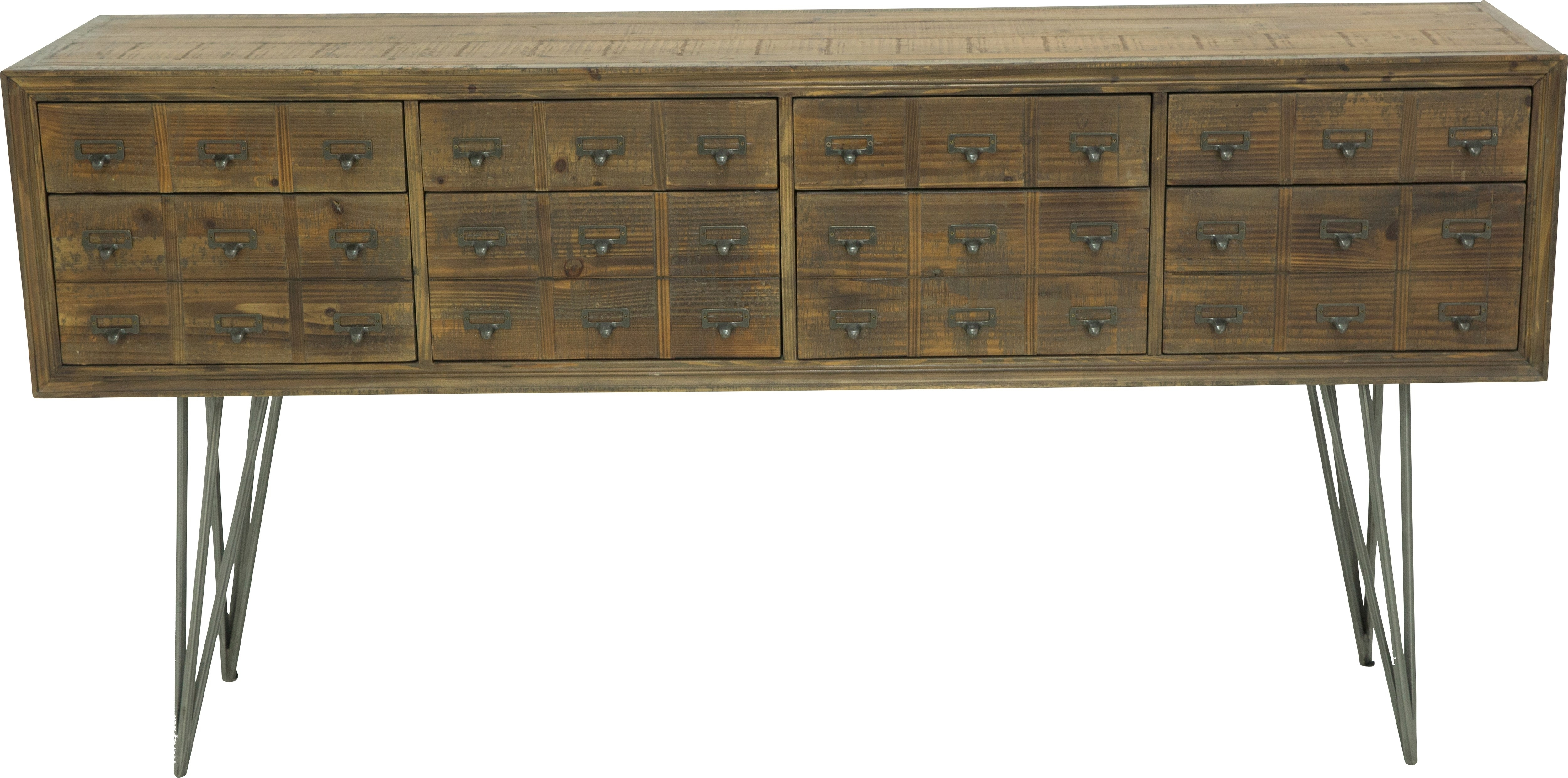 Inspiration about Millview Brown Sideboard – Servers Dark Wood Inside Most Current Reclaimed Elm 71 Inch Sideboards (#1 of 20)