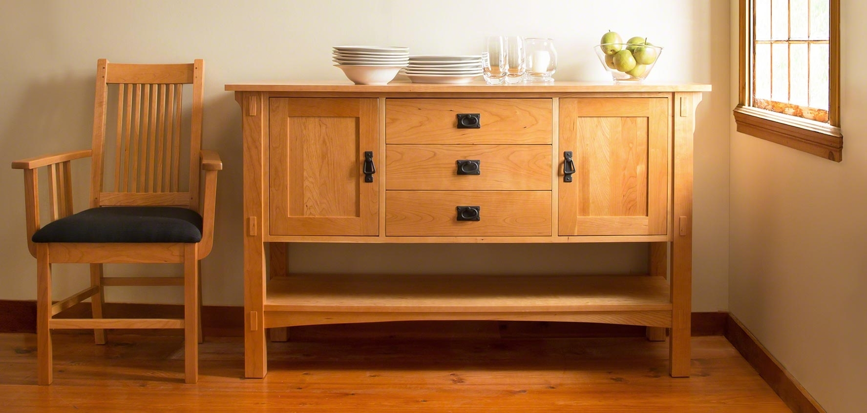 Inspiration about Mission & Craftsman Buffets – Vermont Woods Studios In Most Current Craftsman Sideboards (#6 of 20)