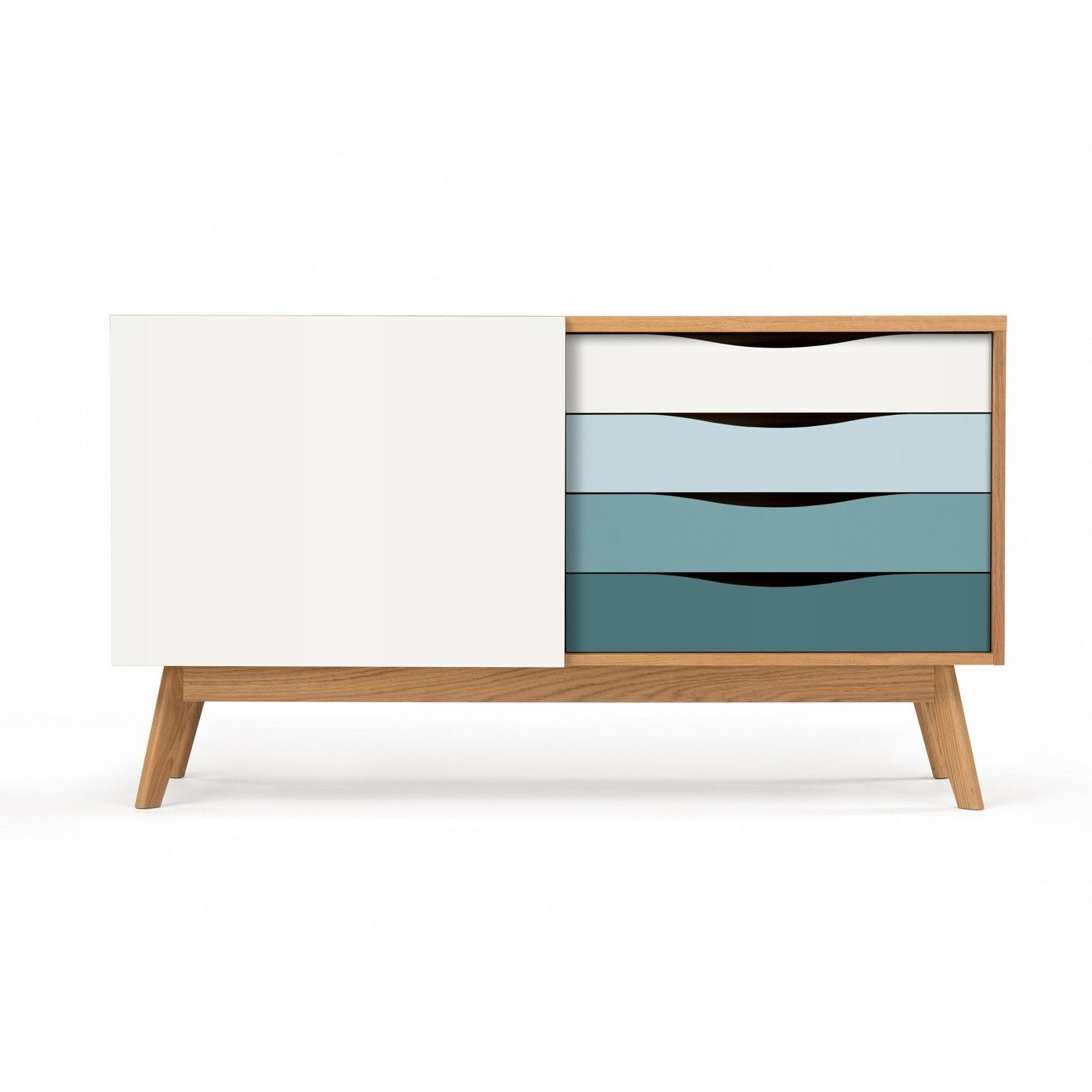 Inspiration about Møbla | Sideboard Avonwoodman – Møbla | Designer Möbel With Regard To Most Recently Released Corrugated Natural 4 Drawer Sideboards (#17 of 20)