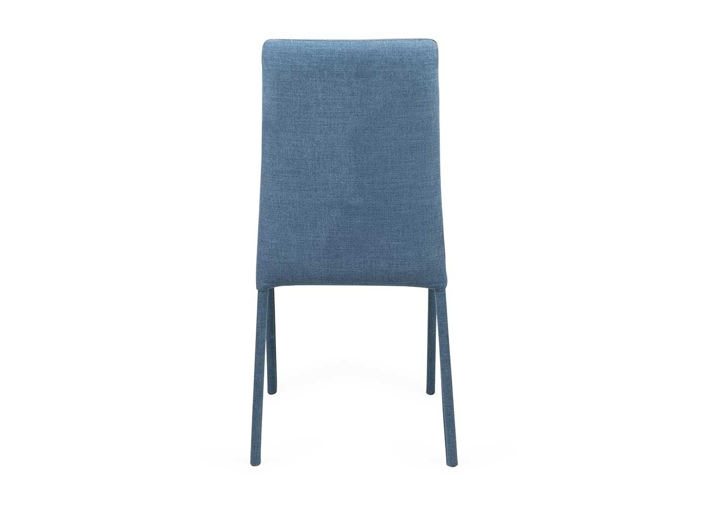 Moda Blue Side Chairs Regarding Most Current Bronte Pair Of Dining Chairs (View 9 of 20)