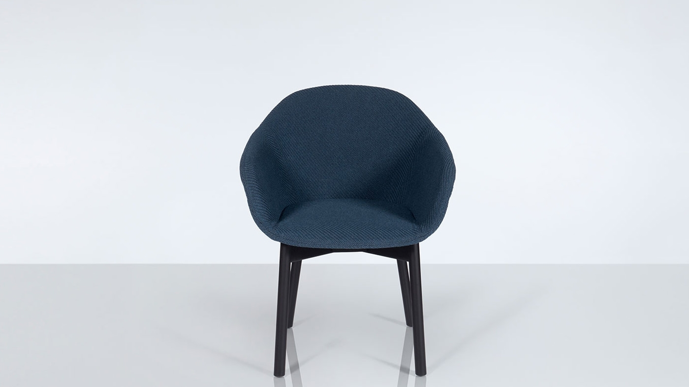 Inspiration about Moda Blue Side Chairs Within Best And Newest Chairs (#17 of 20)