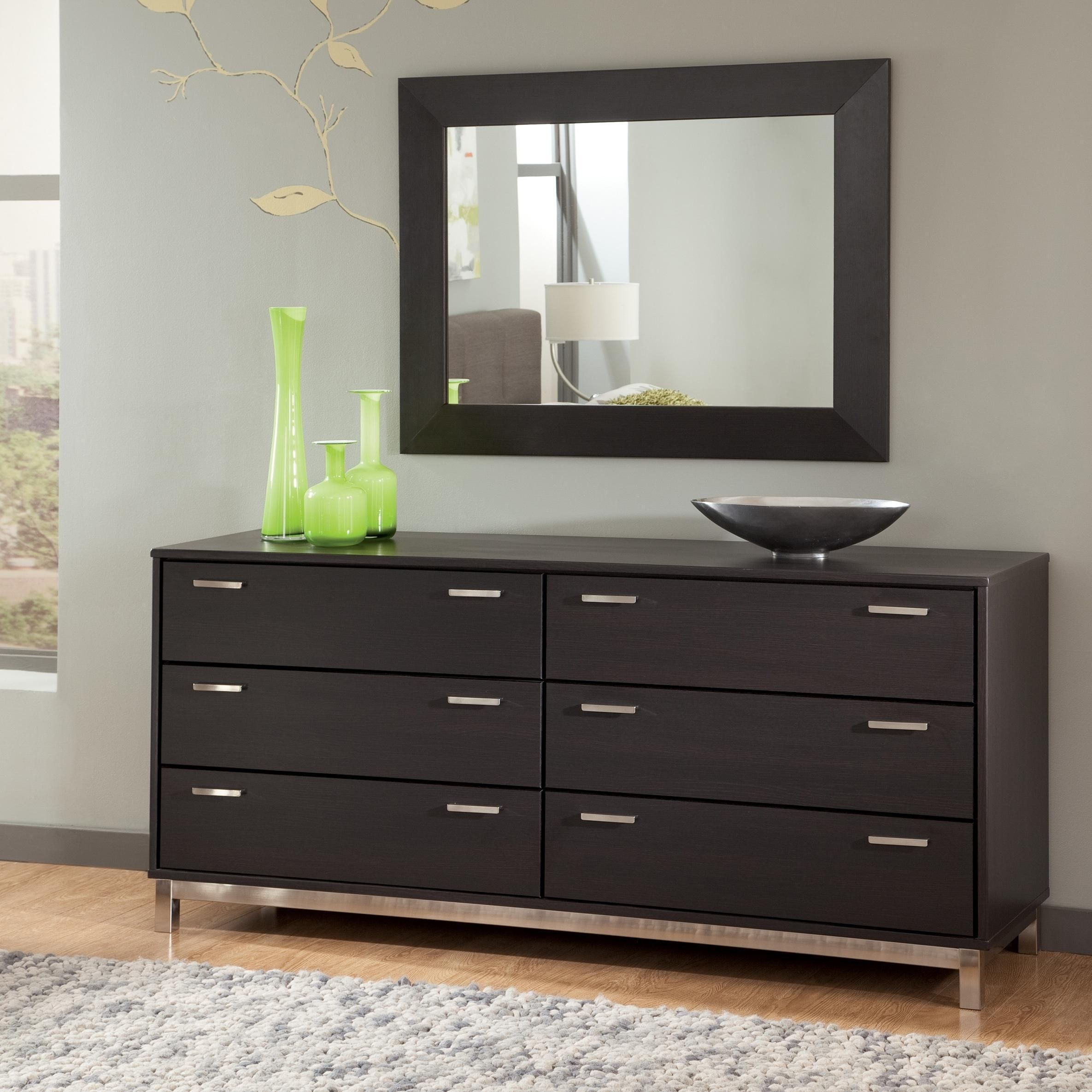 Inspiration about Modern Dresser Furniture With Design Black Color | My Dream Home Regarding Most Recently Released Mandara 3 Drawer 2 Door Sideboards (#18 of 20)