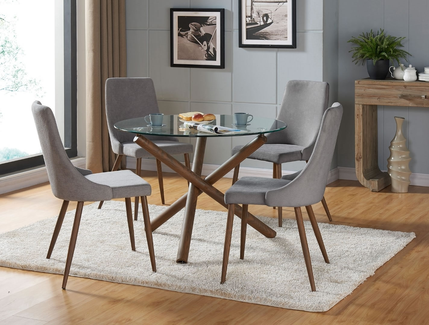 Inspiration about Modern For Most Recent Cora Side Chairs (#12 of 20)