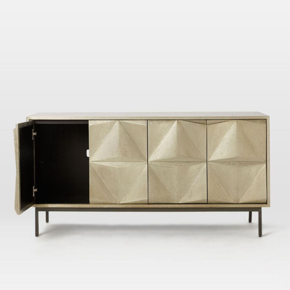Inspiration about Modern Furniture, Home Decor & Home Accessories | West Elm Pertaining To Most Popular Geo Capiz Sideboards (#5 of 20)