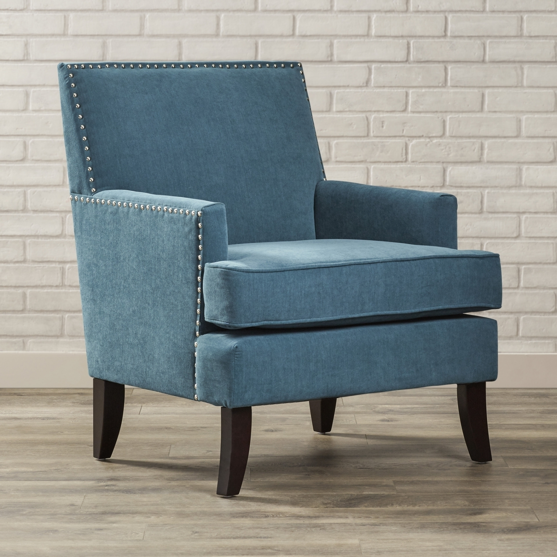 Most Current Light Blue Accent Chair And Green Room — The Home Redesign Regarding Nautical Blue Side Chairs (#7 of 20)