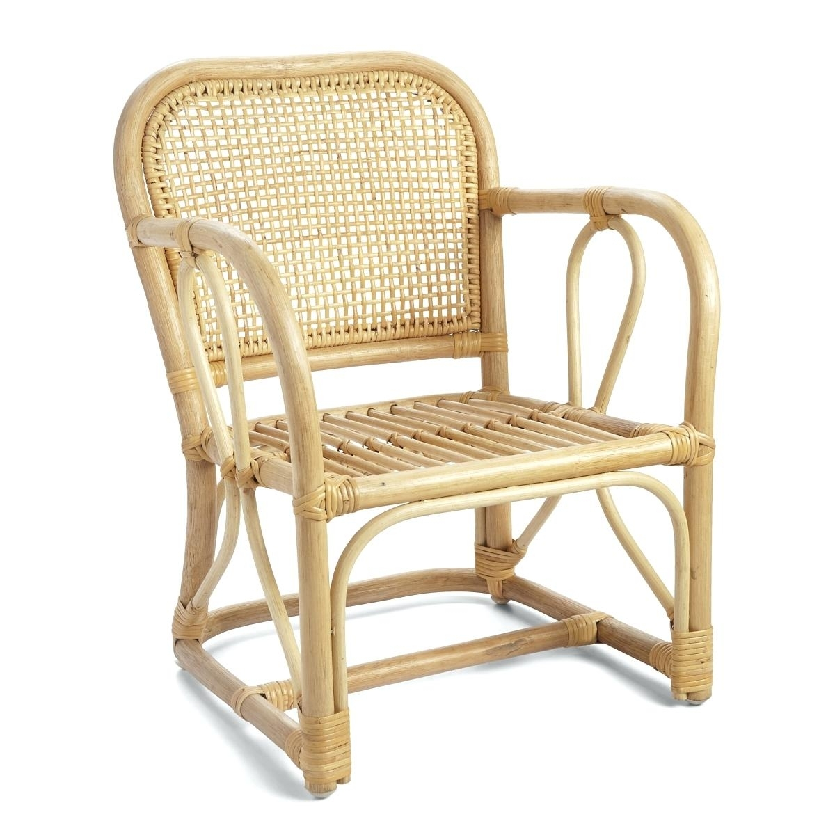 Inspiration about Most Current Magnolia Home Entwine Rattan Arm Chairs In Rattan Arm Chair Rattan Armchair Rattan Dining Armchair – Dgsports.co (#8 of 20)