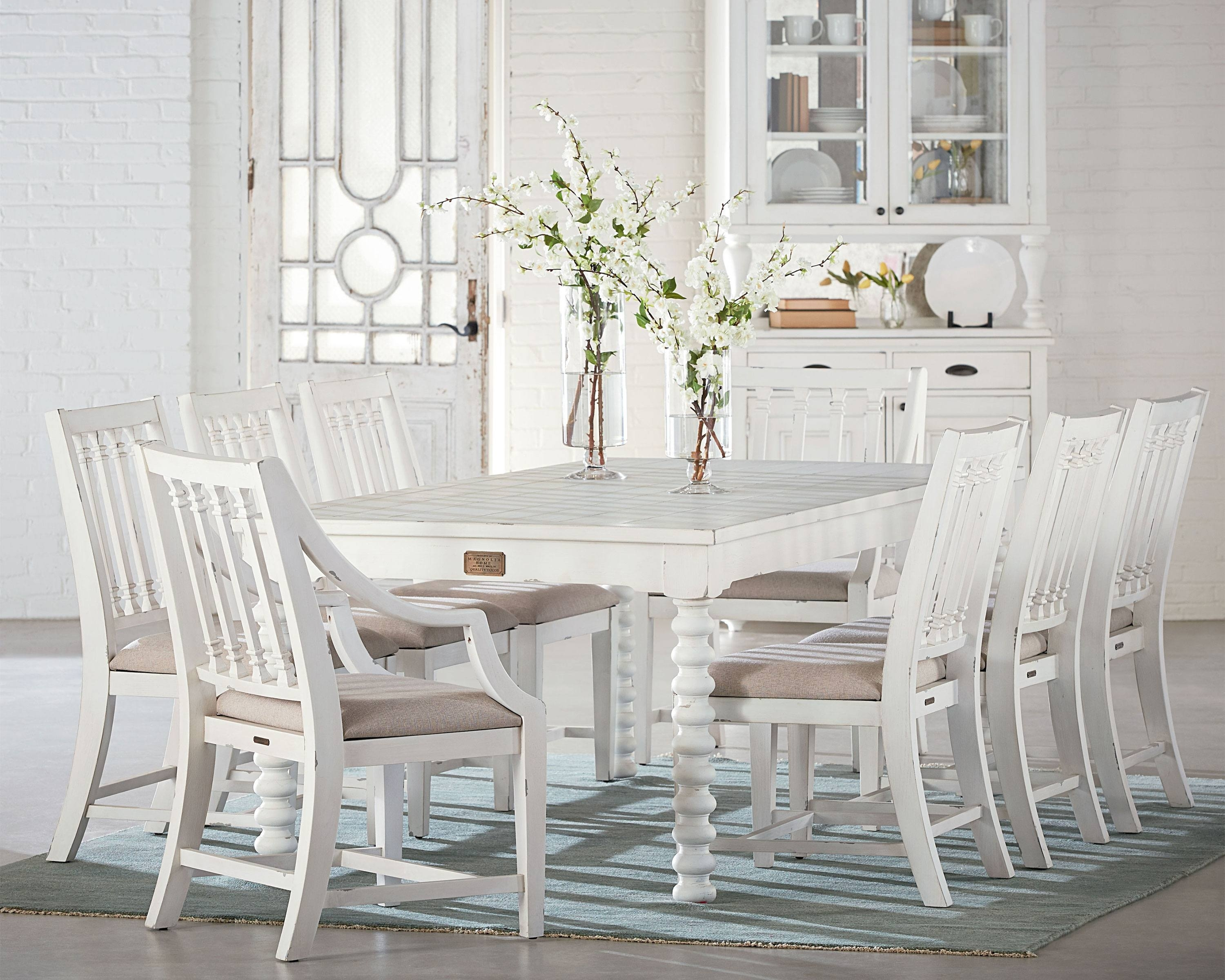 Most Current Magnolia Home Revival Side Chairs With Spool Leg + Revival – Magnolia Home (#14 of 20)