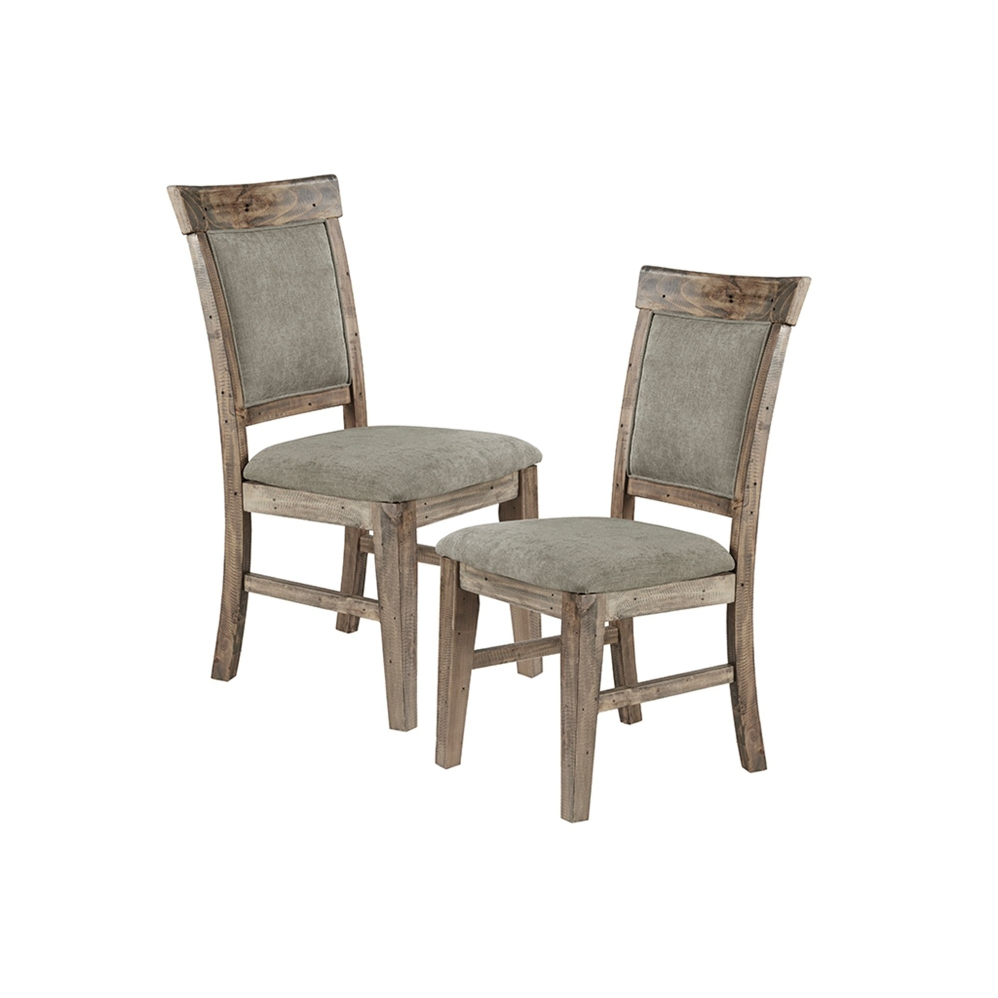 Most Current Oliver Side Chairs For Shop Ink Ivy Oliver Natural/grey Dining Side Chair(Set Of 2Pcs (#6 of 20)