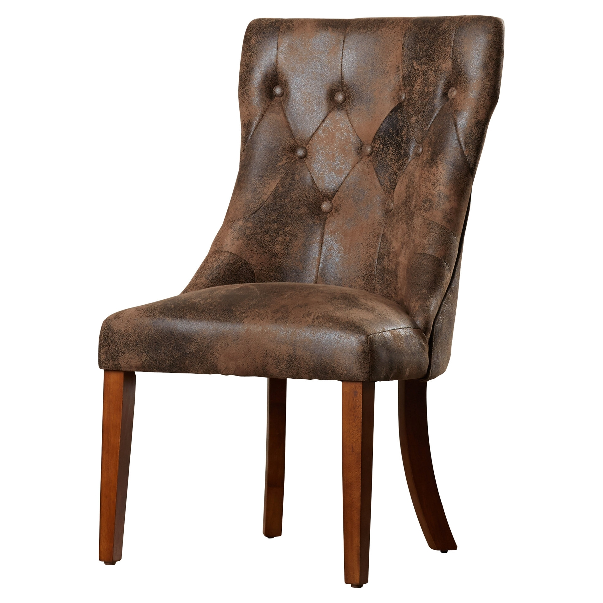 Most Popular Caira Upholstered Arm Chairs With Regard To Lark Manor Parfondeval Upholstered Dining Chair & Reviews (View 19 of 20)