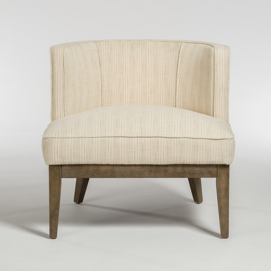 Most Popular Chandler Occasional Chair – Alder & Tweed Furniture Throughout Chandler Fabric Side Chairs (#12 of 20)