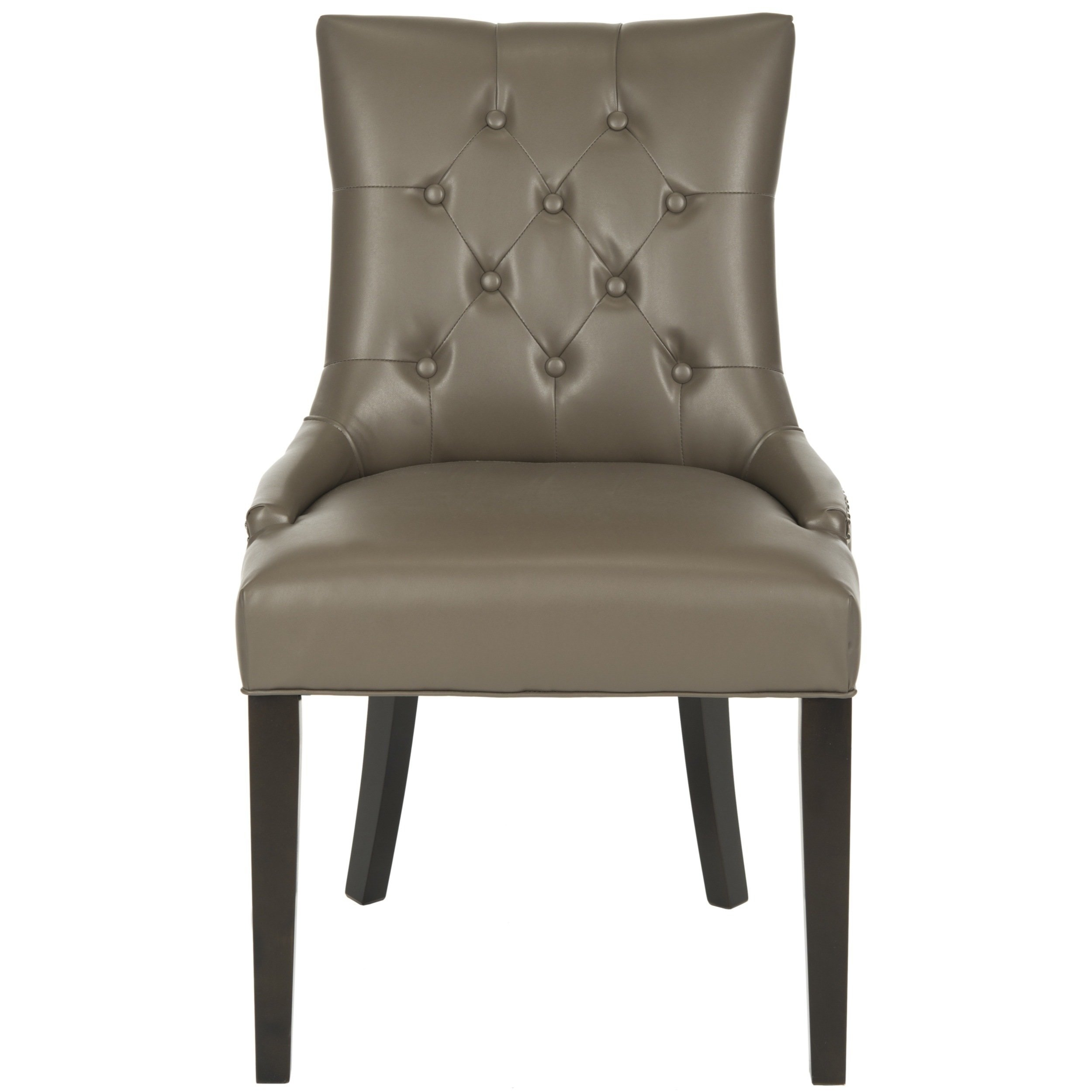 Inspiration about Most Popular Clay Side Chairs With Regard To Shop Safavieh Abby Clay Leather Dining Chairs (Set Of 2) – Free (#17 of 20)
