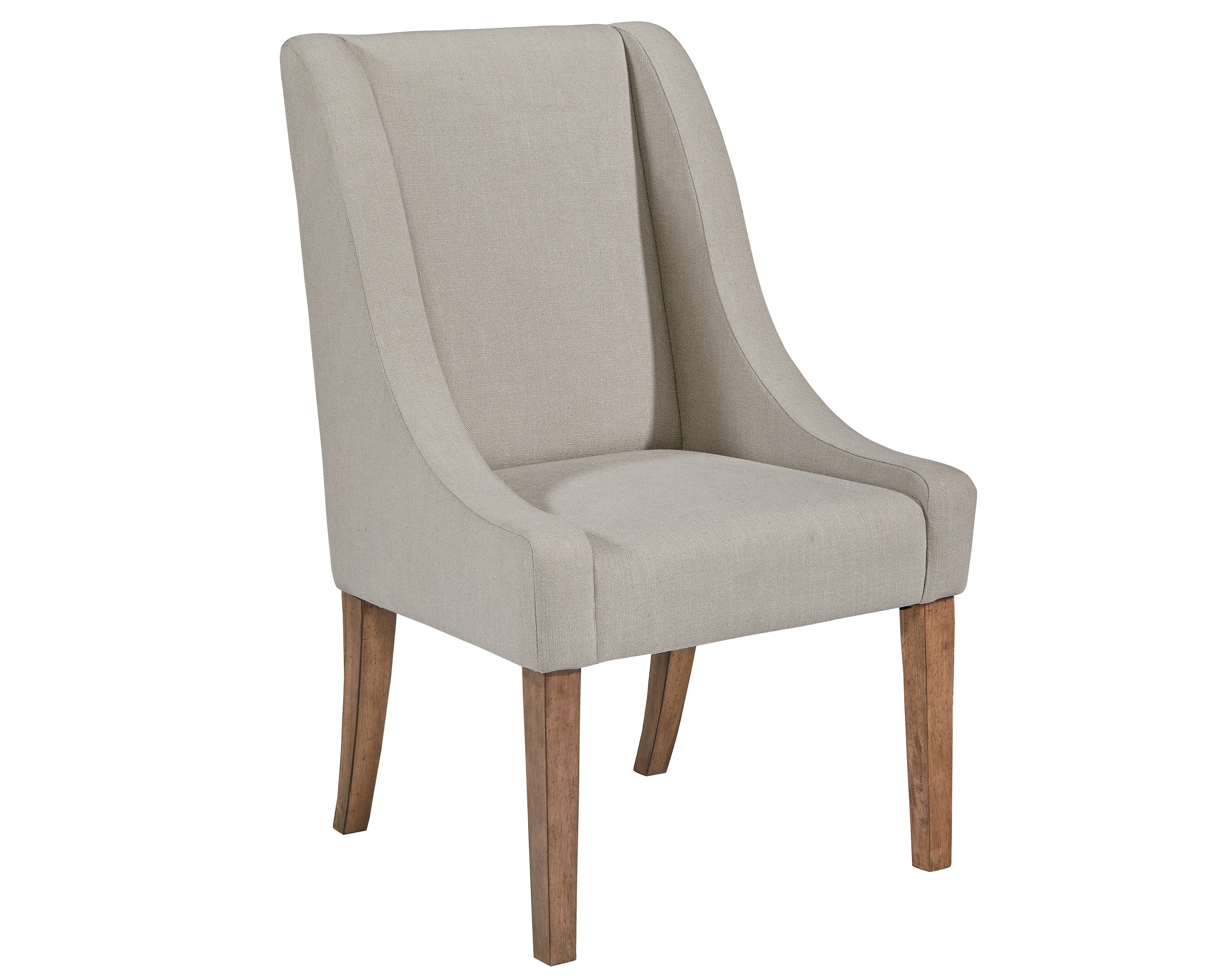 Popular Photo of Magnolia Home Demi Flannel Wing Side Chairs