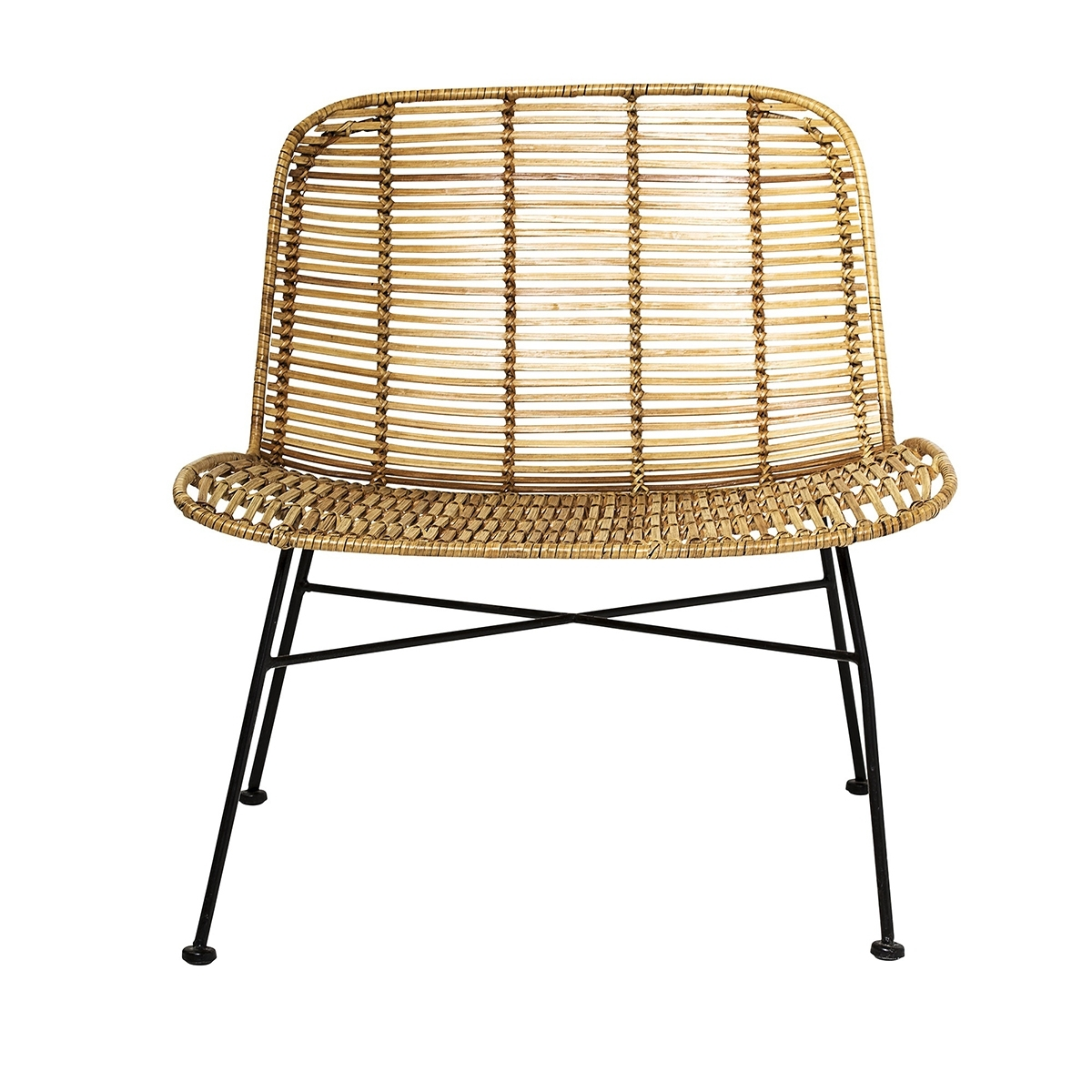 Most Popular Dom Side Chairs Inside Dom Rattan Lounge Chair • Woo  (#13 of 20)
