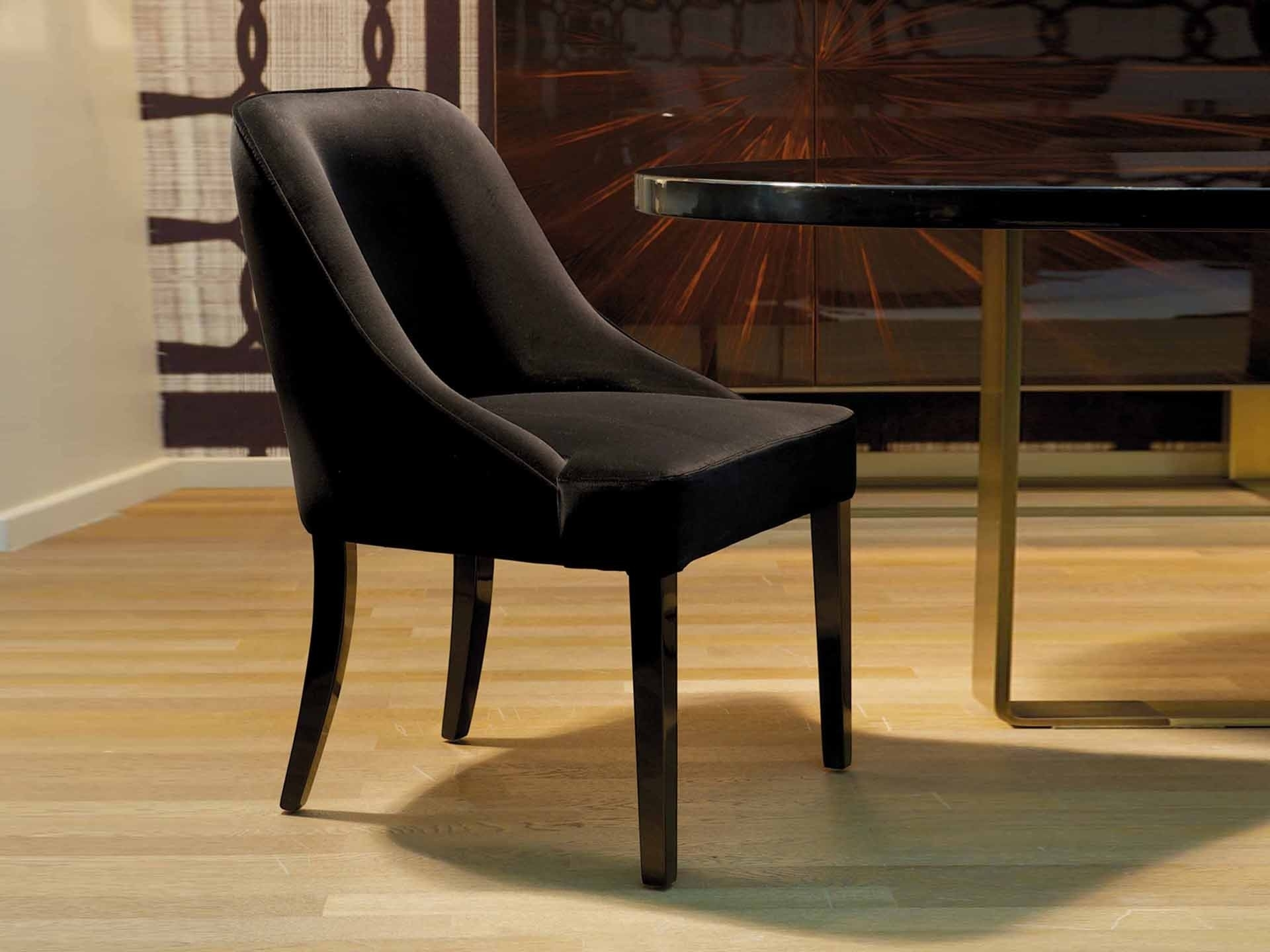Most Popular Dom Side Chairs Throughout Dom Edizioni, Vicky Dining Chair, Buy Online At Luxdeco (#14 of 20)