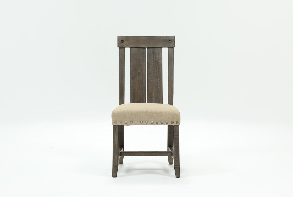 Inspiration about Most Popular Jaxon Upholstered Side Chairs With Jaxon Grey Wood Side Chair (#4 of 20)