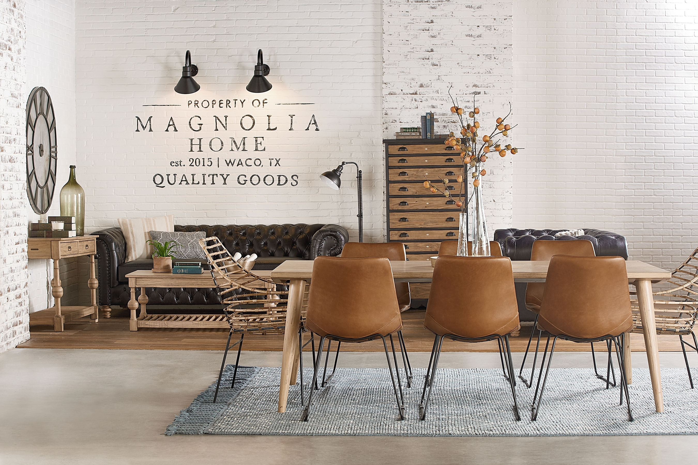 Most Popular Molded Shell Chair – Magnolia Home In Magnolia Home Molded Shell Saddle Side Chairs (#10 of 20)