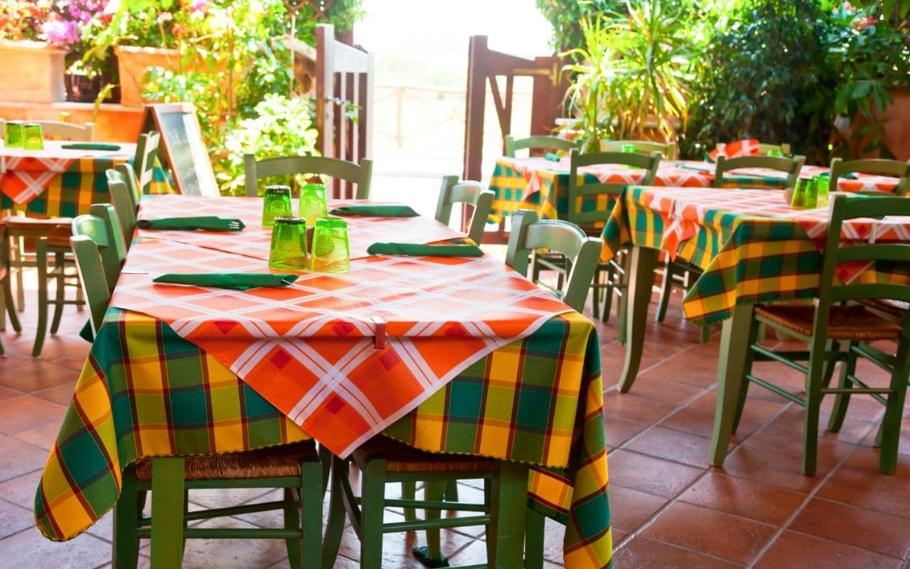 Inspiration about Most Popular Sardinia Restaurants Regarding Osteria Emerald Side Chairs (#19 of 20)