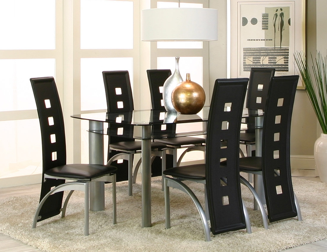 Most Popular Valencia Side Chairs Within Valencia Dining 7pc Set (View 13 of 20)