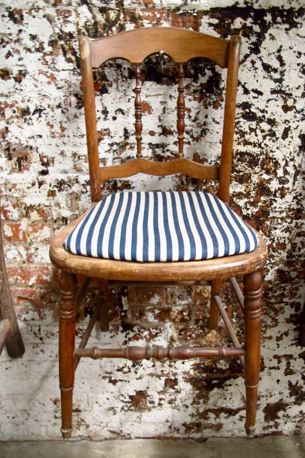 Inspiration about Most Popular Wood Seating — Primate Props Intended For Blue Stripe Dining Chairs (#5 of 20)