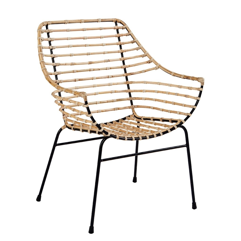 Inspiration about Most Recent Magnolia Home Contour Milk Crate Side Chairs Pertaining To Entwine Rattan Armchair – Seating – Magnolia Home (#12 of 20)