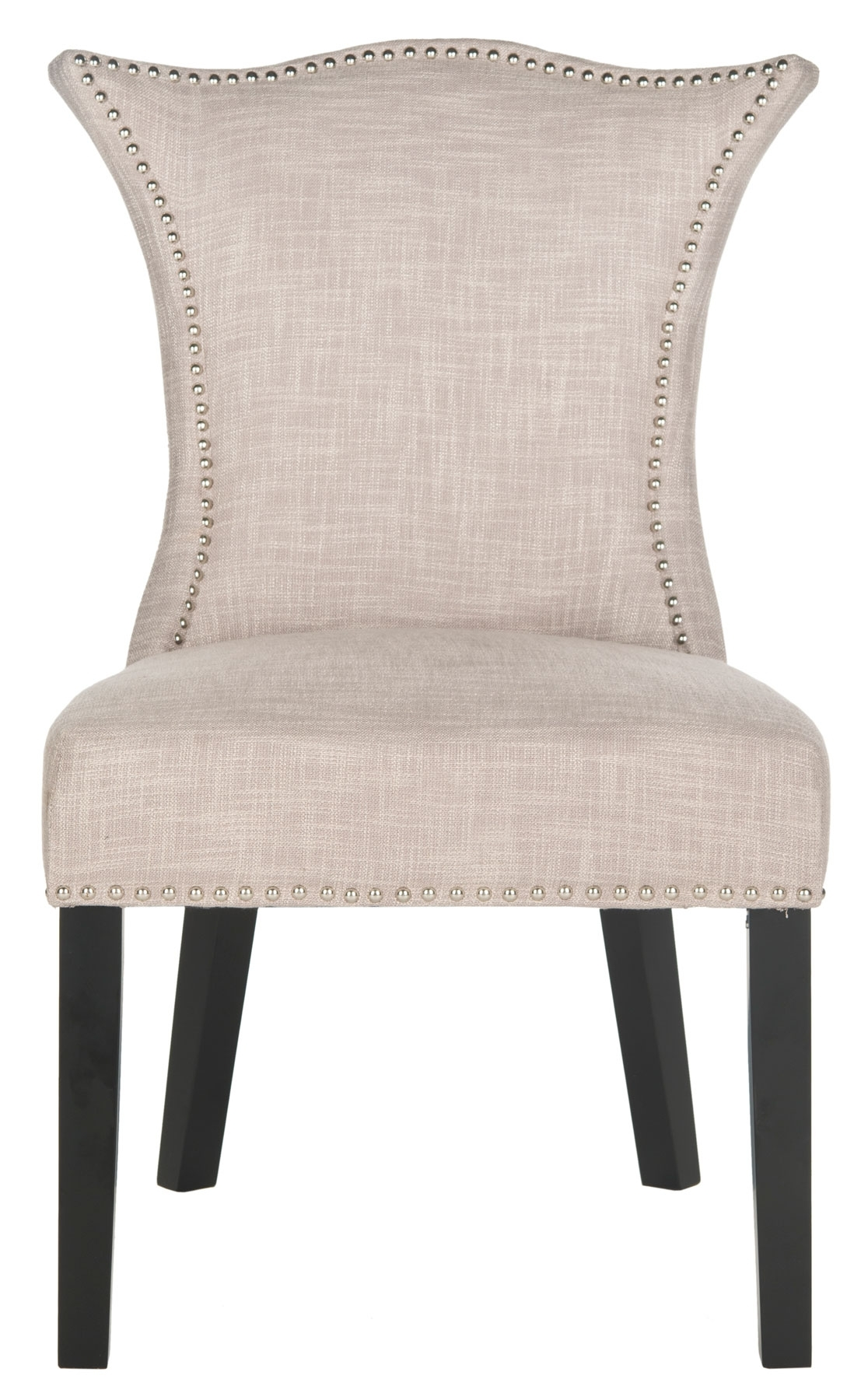 Inspiration about Most Recently Released Caira Black Upholstered Arm Chairs With Regard To Mcr4717a Set2 Dining Chairs – Furnituresafavieh (#18 of 20)