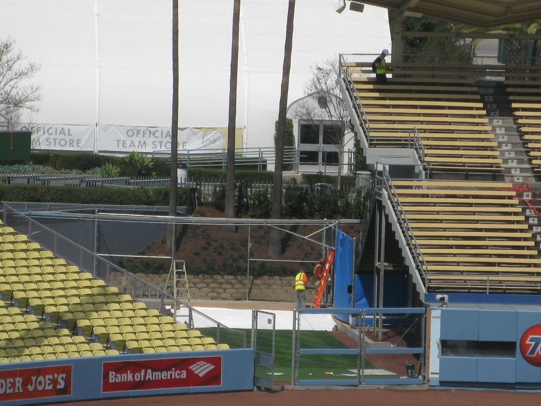 Most Recently Released Dodger Stadium Upgrades Unveiled As They Are Finalized – True Blue La Regarding Dodger Side Chairs (#14 of 20)