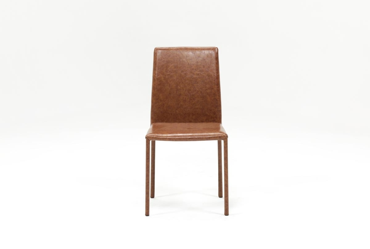 Inspiration about Most Up To Date Hayden Cognac Side Chair (#1 of 20)