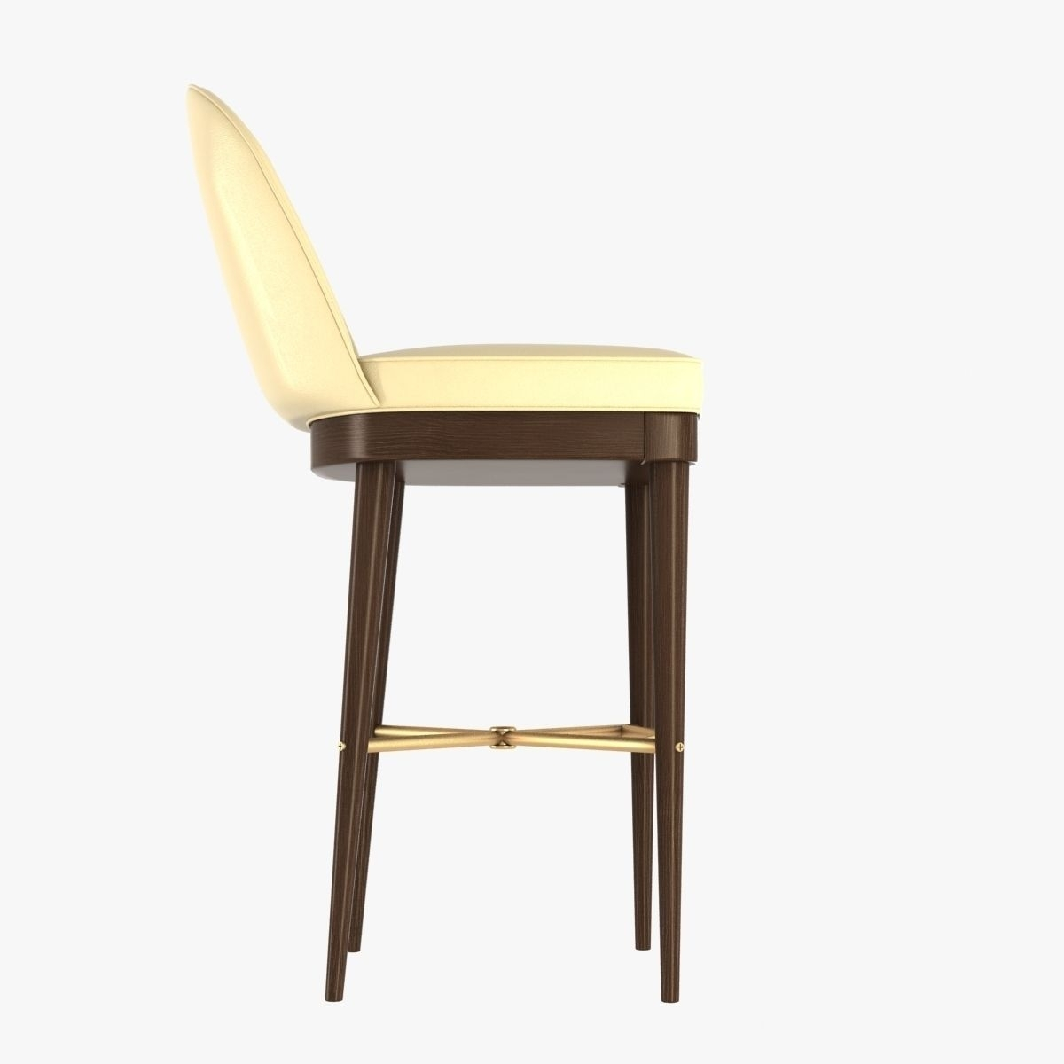 Inspiration about Most Up To Date Laurent Bar Stoolhickory Chair Furniture 3D Model Max Obj Mtl Throughout Laurent Wood Side Chairs (#9 of 20)