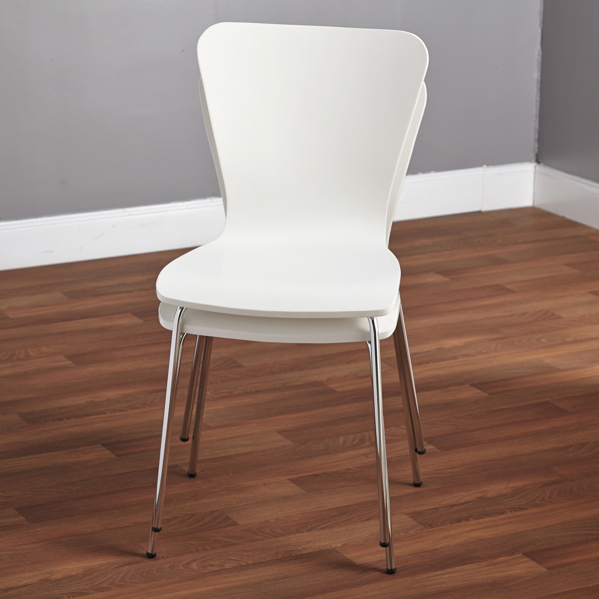 Inspiration about Most Up To Date Mandy Paper White Side Chairs Intended For Pisa Bentwood Chair, Set Of 2, Multiple Colors – Walmart (#15 of 20)