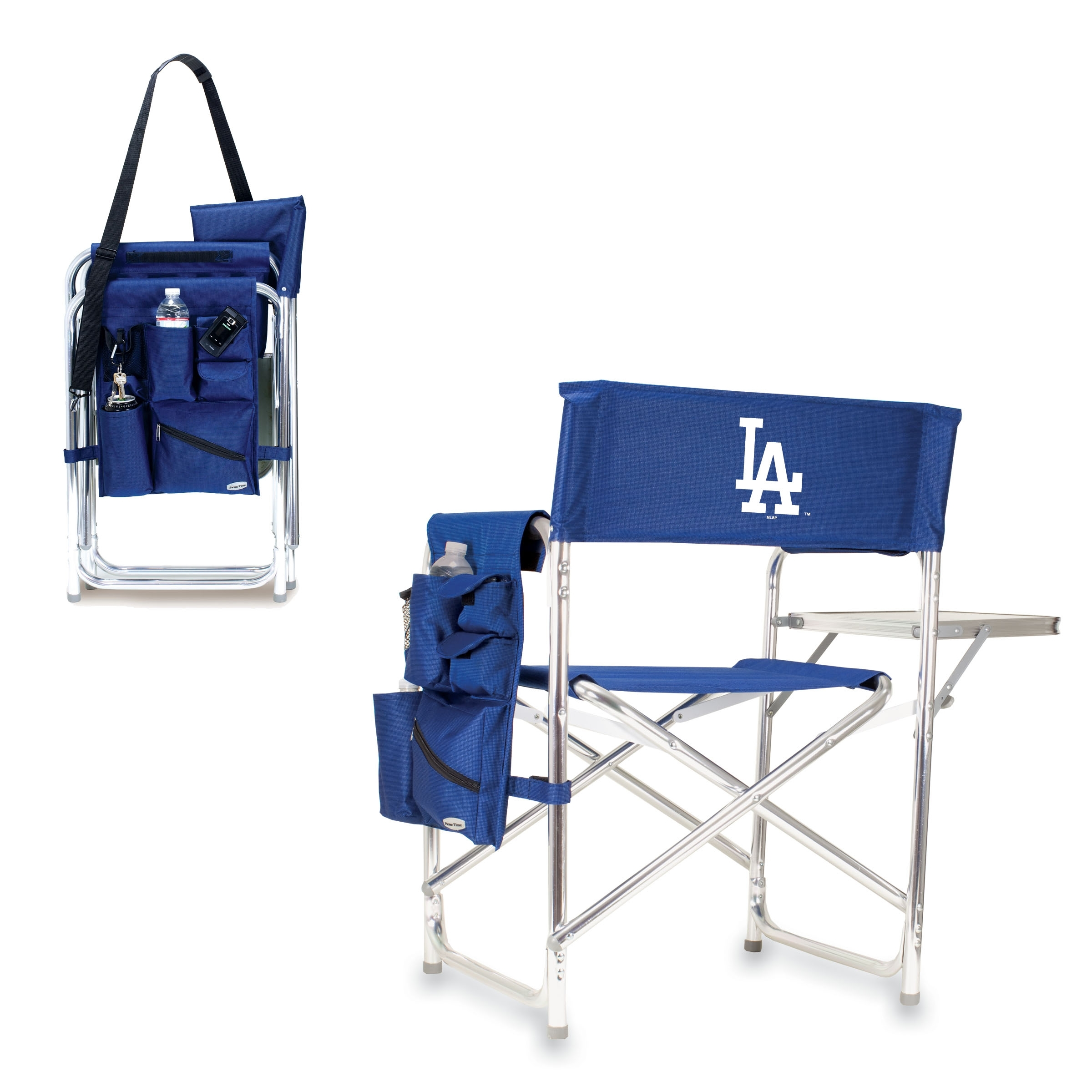 Inspiration about Most Up To Date Sports Chair – Navy (Los Angeles Dodgers) Digital Print – Picnic Regarding Dodger Side Chairs (#18 of 20)