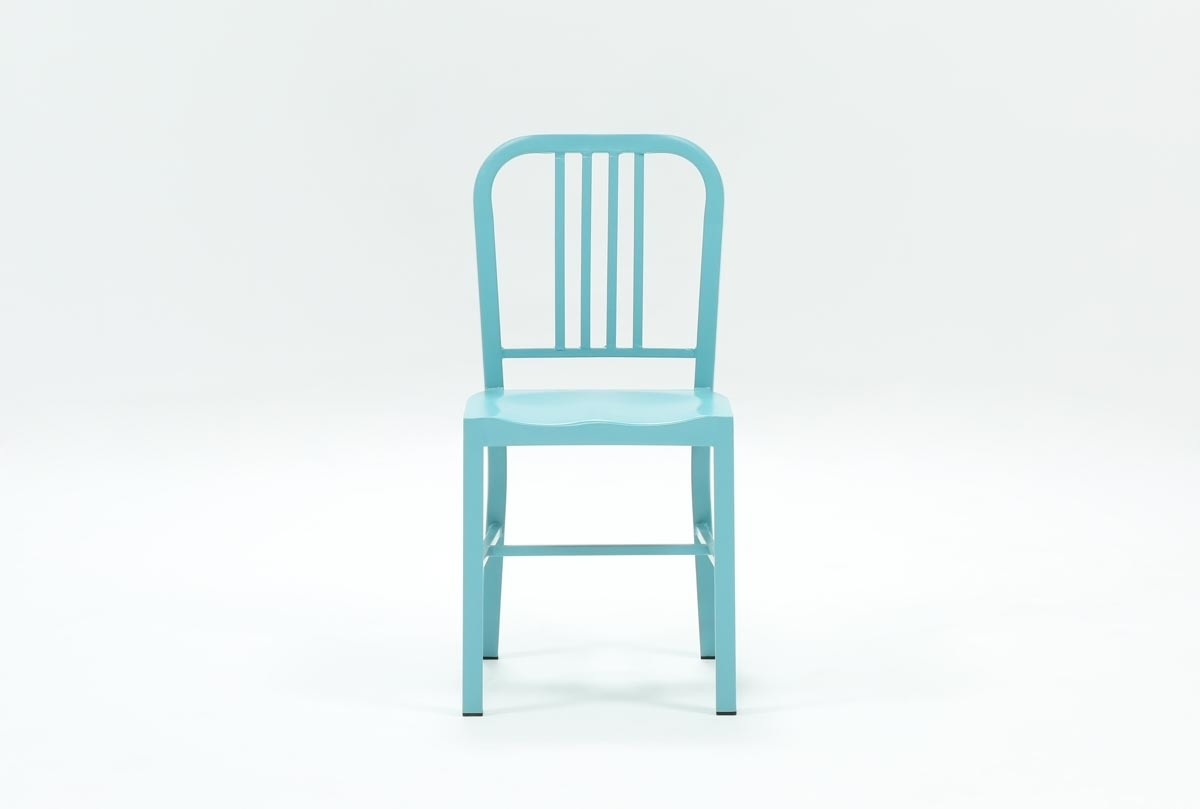 Popular Photo of Nautical Blue Side Chairs