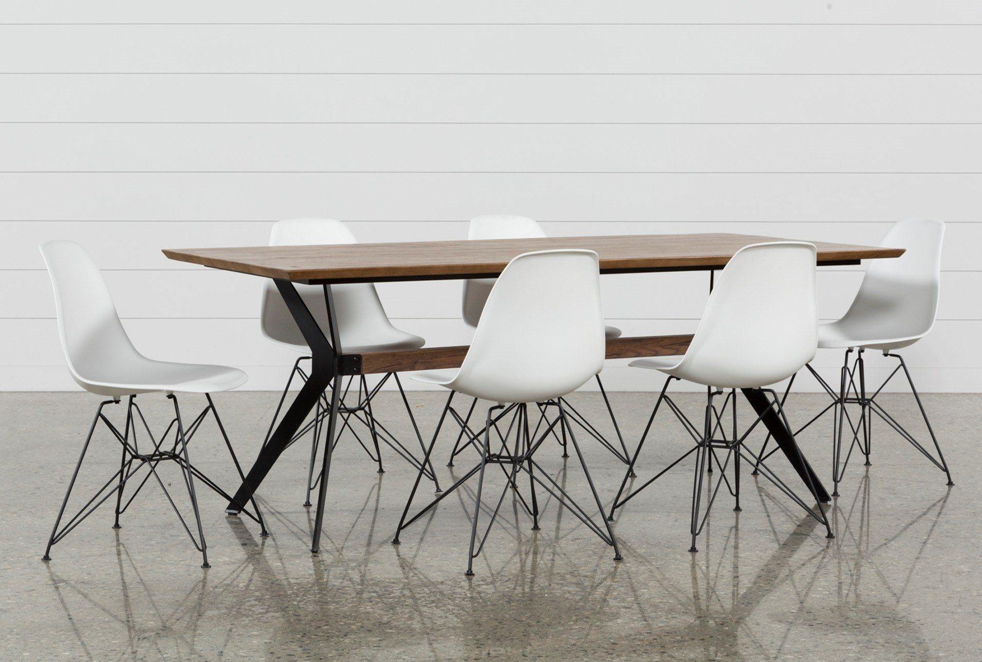 Popular Photo of Alexa White Side Chairs