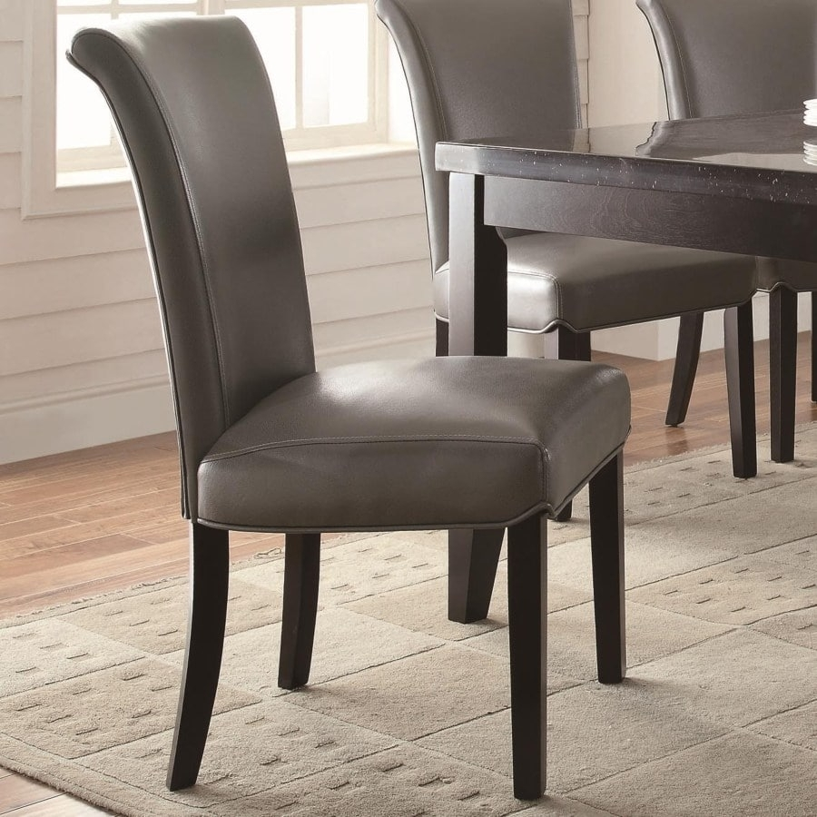 Newbridge Upholstered Metal Side Chair – Omni Furniture Gallery In Widely Used Omni Side Chairs (#11 of 20)