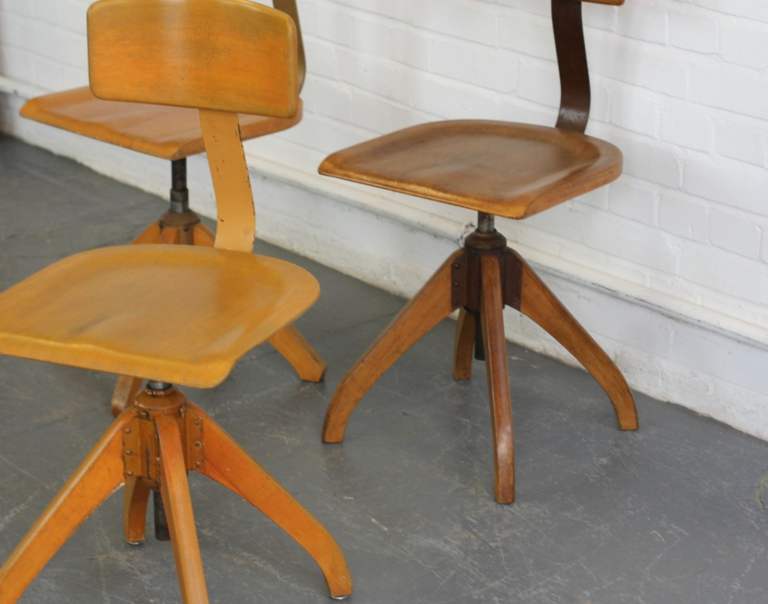 Newest Amos Side Chairs Pertaining To Machinist Chair From Ama Elastik, 1930s For Sale At Pamono (View 7 of 20)