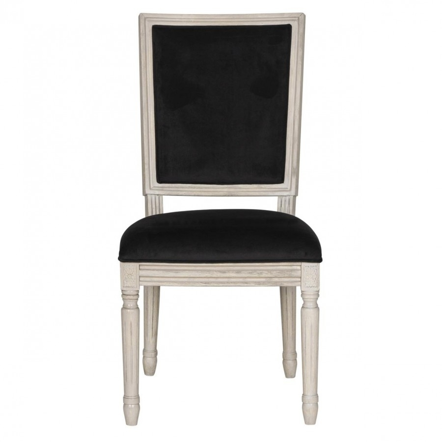 Newest Decor Market – Buchanan French Brasserie Velvet Side Chairs (Set) Throughout Market Side Chairs (#13 of 20)
