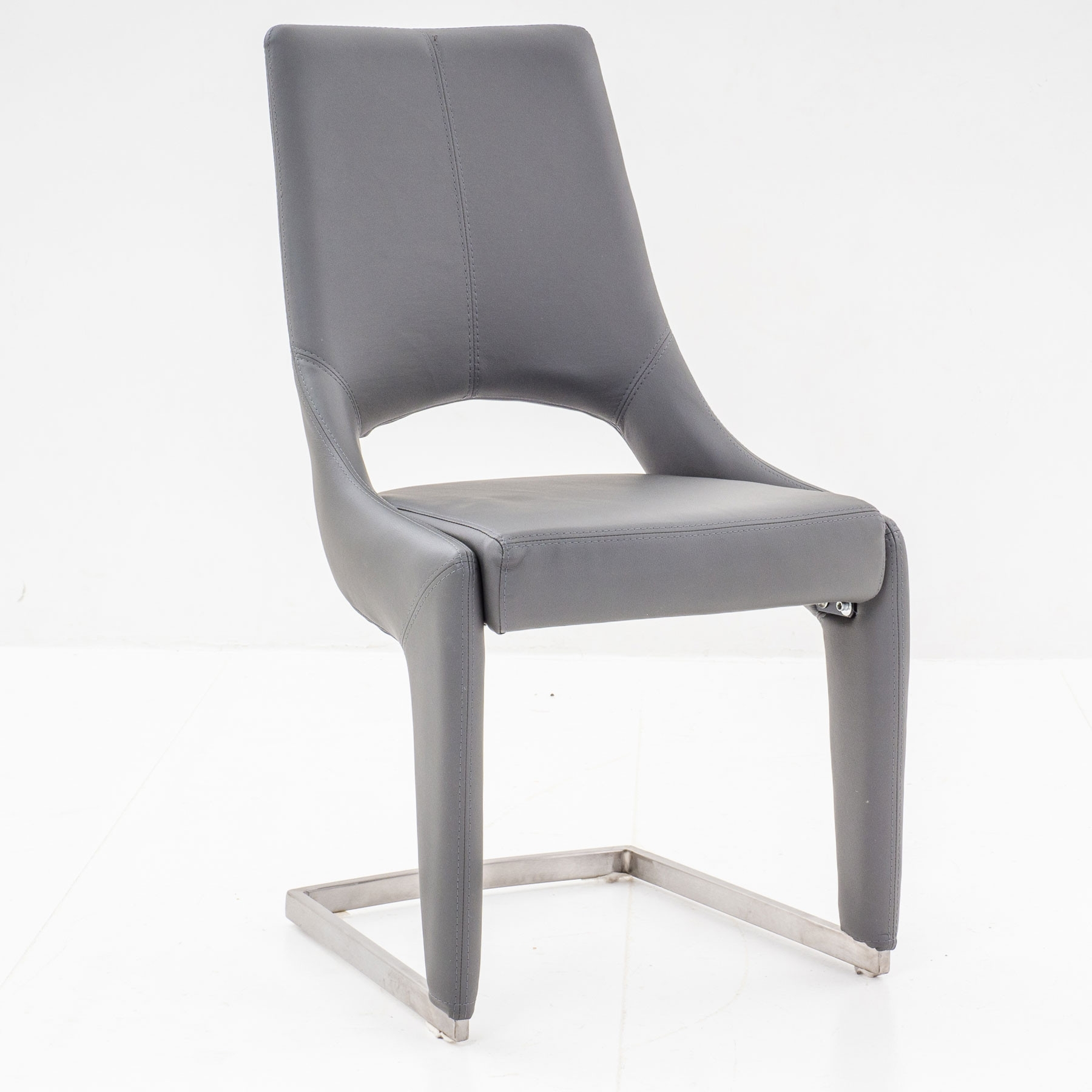Newest Grey Dining Chairs Regarding Ardea Grey Dining Chair (#12 of 20)
