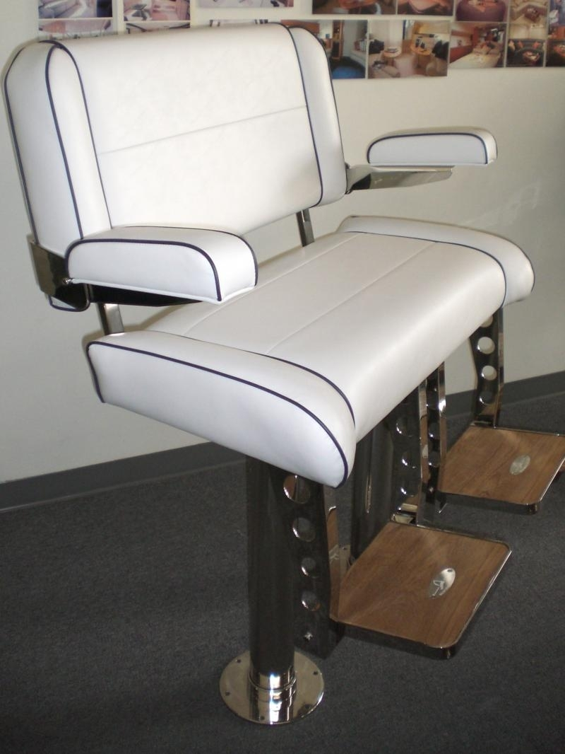 Newest Sea Furniture Sea Marine Hardware – Double Wide Helm Chairs Throughout Helms Arm Chairs (#13 of 20)