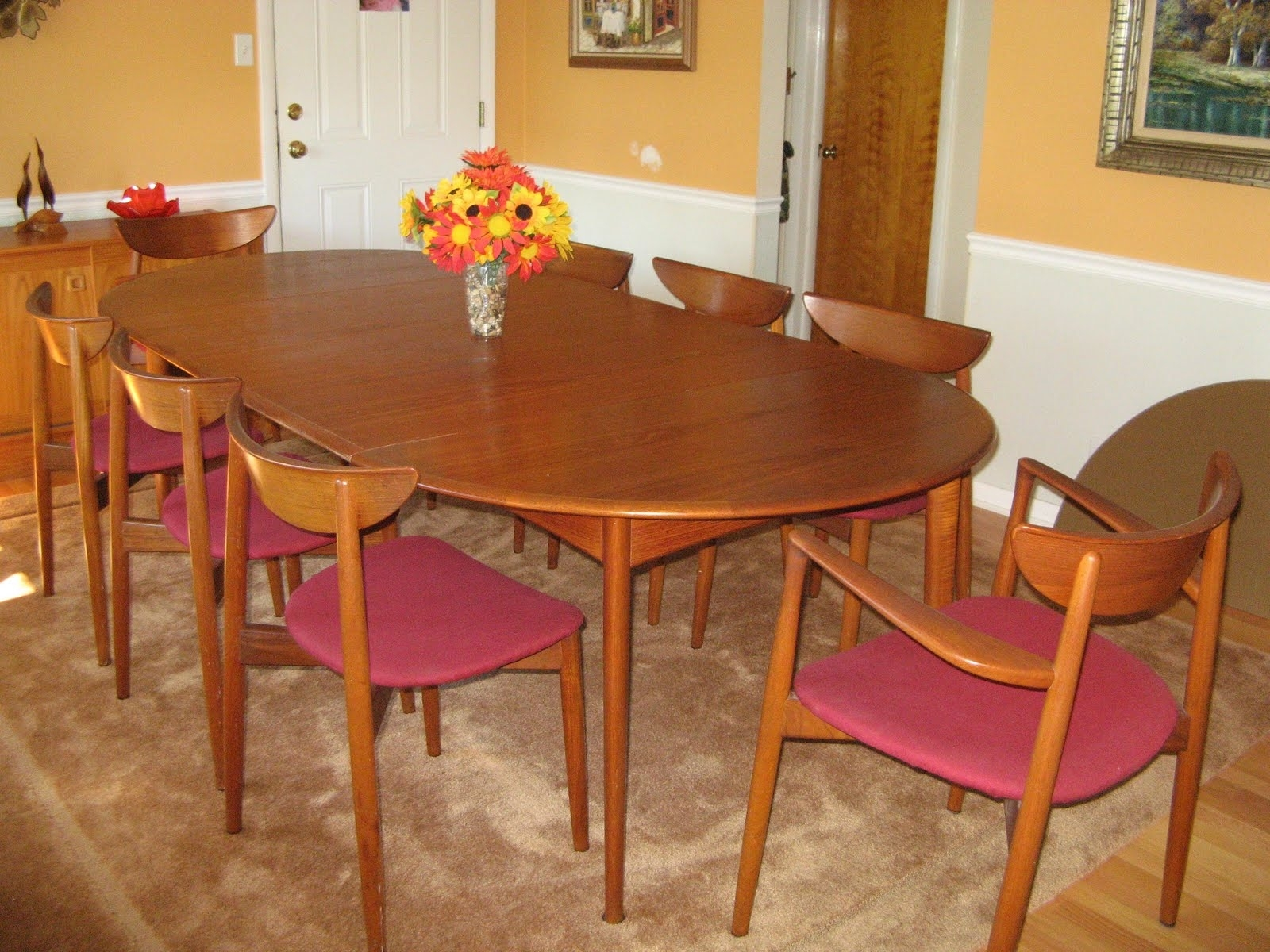 Nice Teak Dining Room Chairs (#14 of 20)