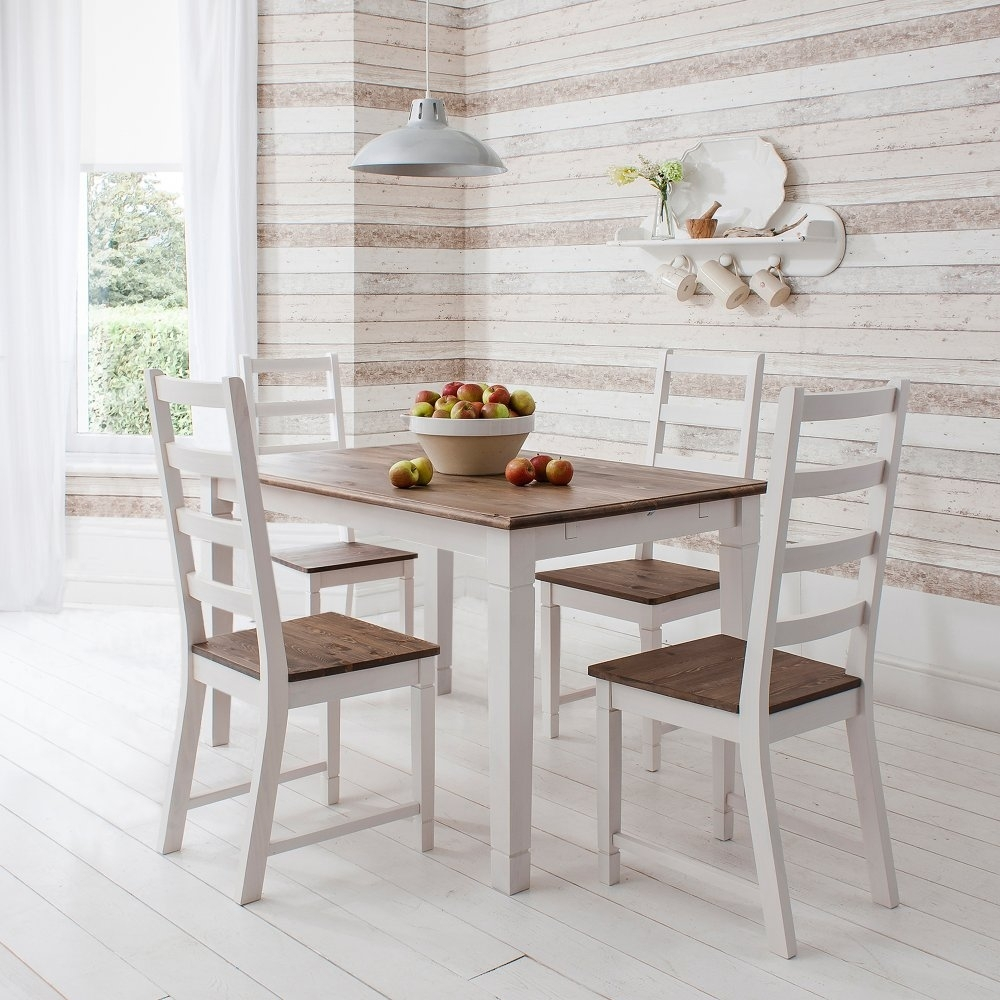 Noa & Nani Intended For Latest Pine Wood White Dining Chairs (#14 of 20)
