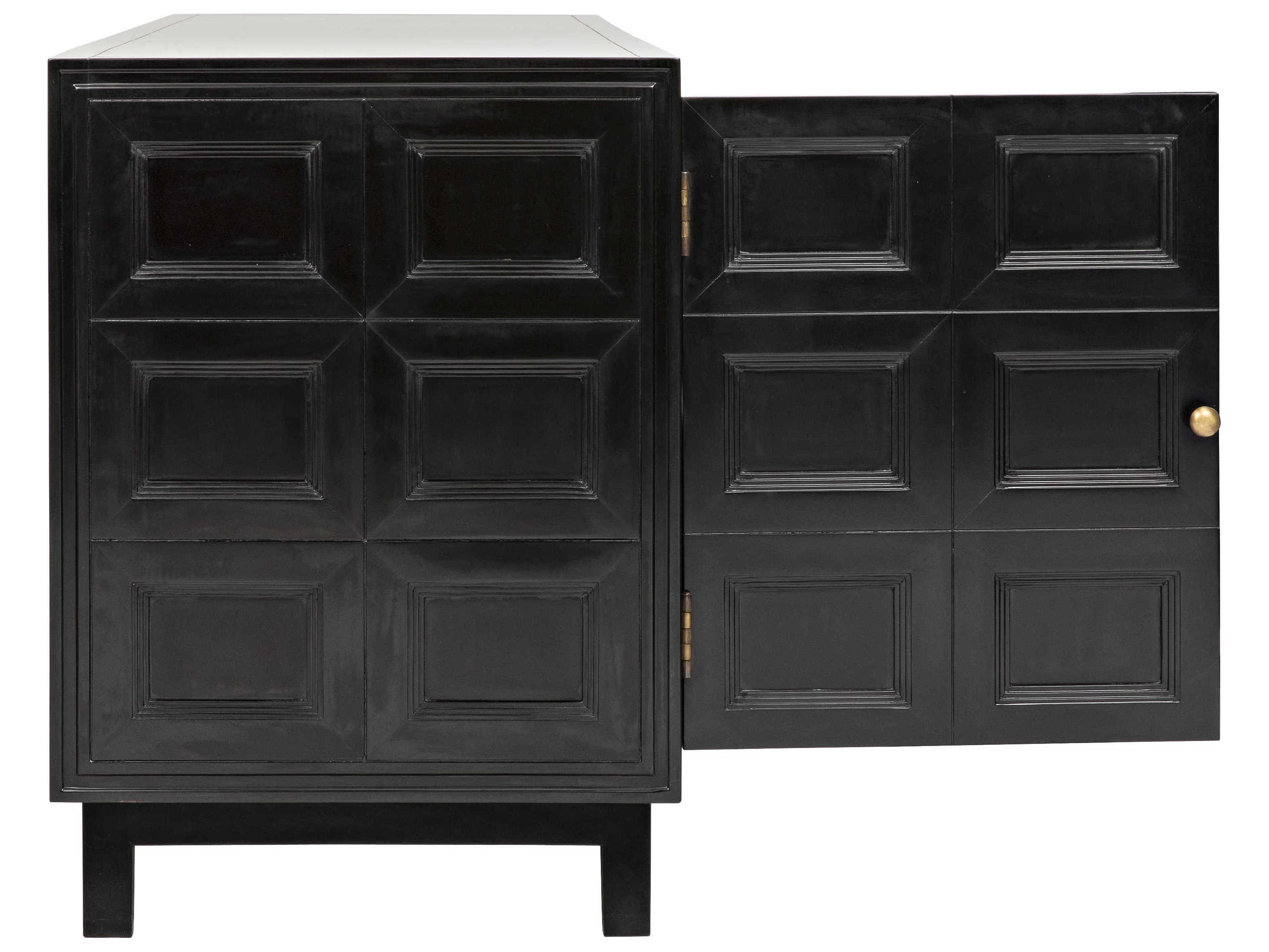 Noir Furniture Wyatt Charcoal 73'' X 23'' Sideboard | Noigcon249ch For Latest Wyatt Sideboards (View 10 of 20)