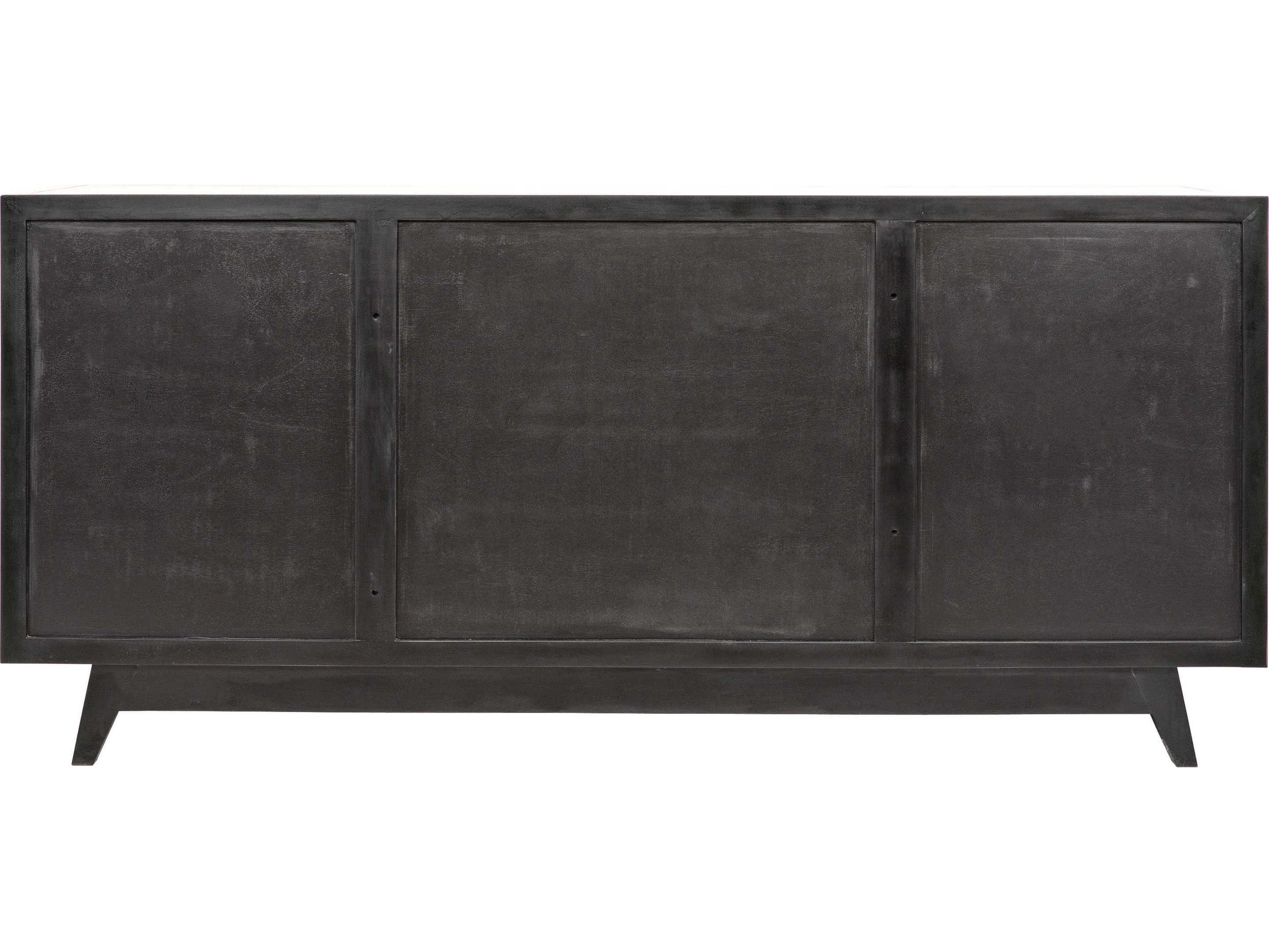 Noir Furniture Wyatt Charcoal 73'' X 23'' Sideboard | Noigcon249ch Within 2018 Wyatt Sideboards (View 18 of 20)