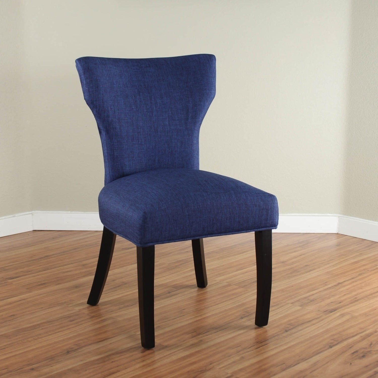 Nossa Upholstered Chair – Free Shipping Today – Overstock – 17617785 Intended For Most Current Caira Black Upholstered Arm Chairs (#14 of 20)