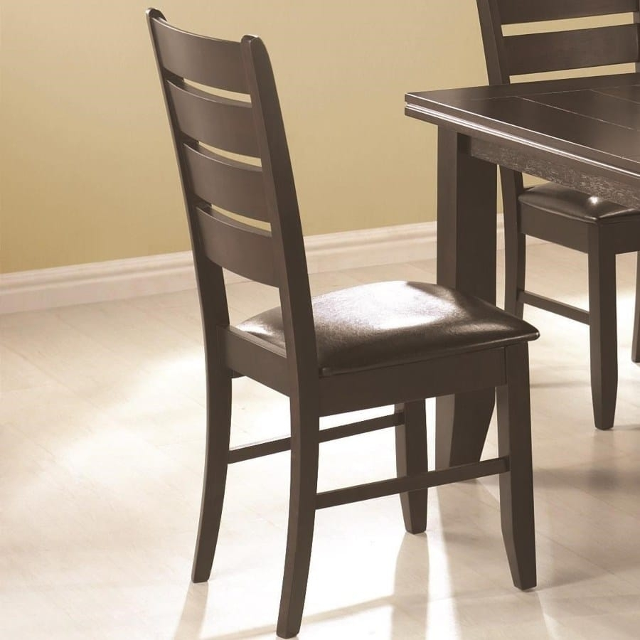 Omni Side Chairs Throughout Latest Page Contemporary Slat Back Dining Side Chair With Upholstered Seat (#15 of 20)