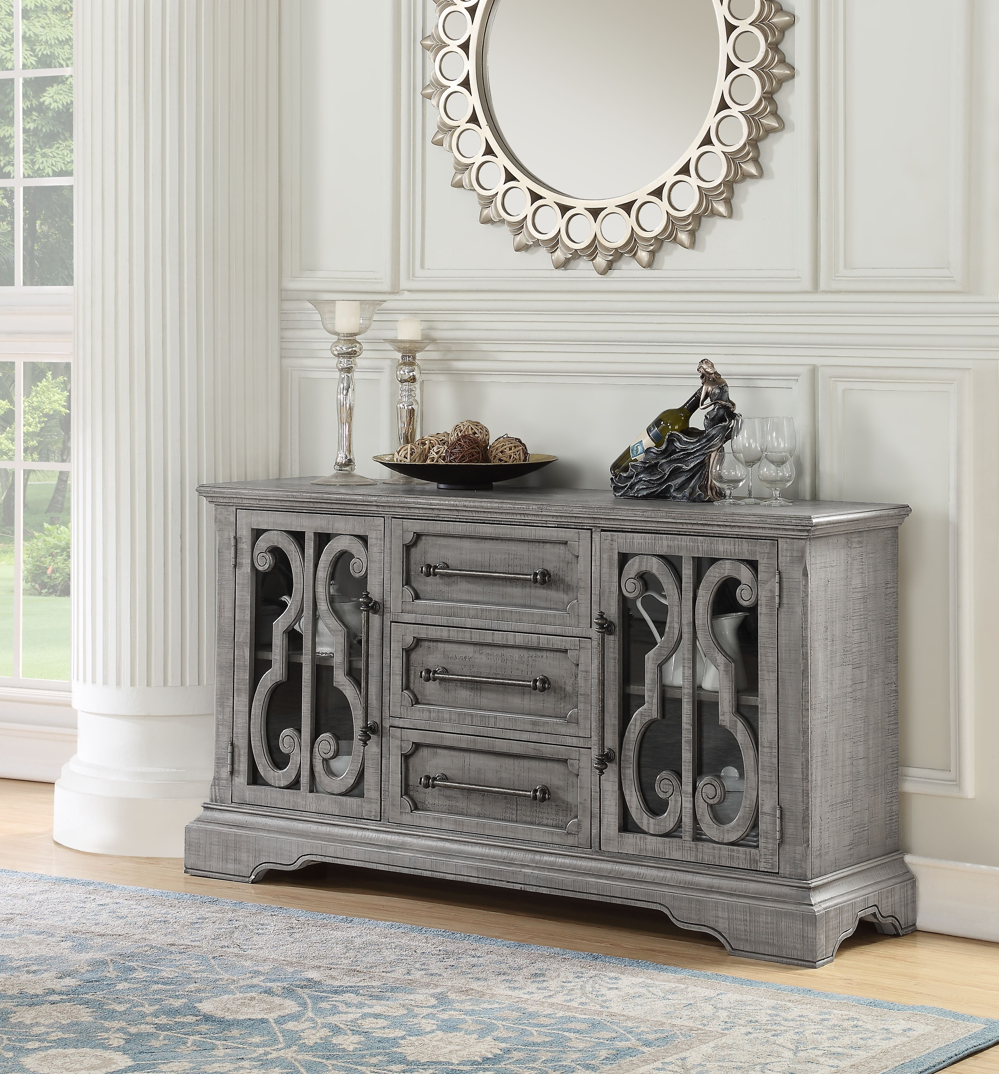 One Allium Way Candice Server | Wayfair With Latest Candice Ii Sideboards (View 15 of 20)